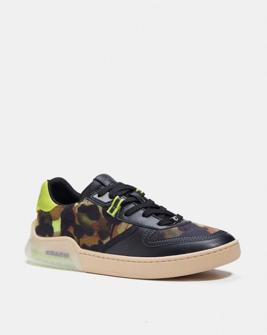 CITYSOLE COURT SNEAKER WITH CAMO PRINT