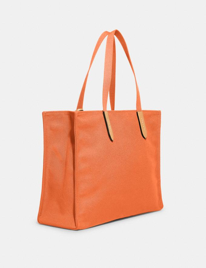 Coach 100 Percent Recycled Tote 42 B4/Canyon 9.1-newness Alternate View 1