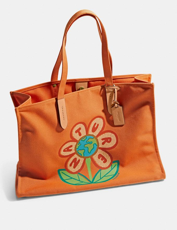 Coach 100 Percent Recycled Tote 42 B4/Canyon 9.1-newness Alternate View 2