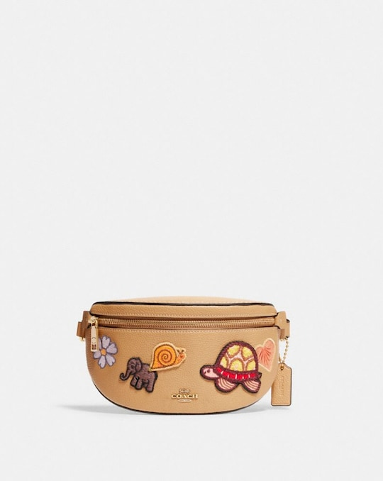 BETHANY BELT BAG WITH CREATURE PATCHES