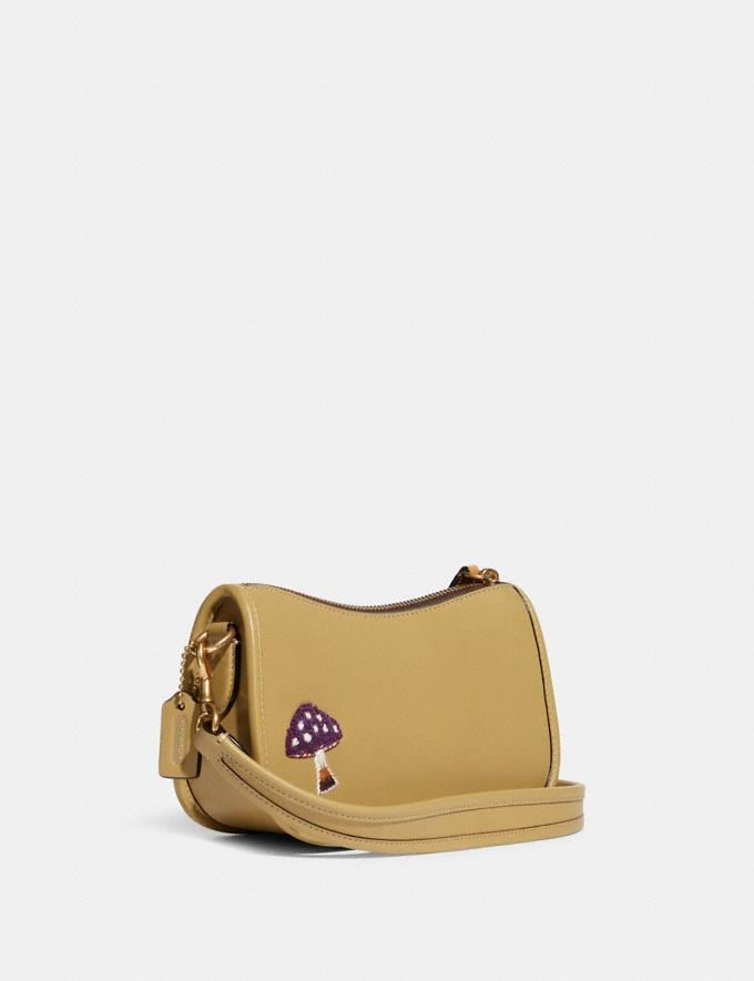 Coach Swinger 20 With Creature Patches B4/Light Tan Multi  Alternate View 1