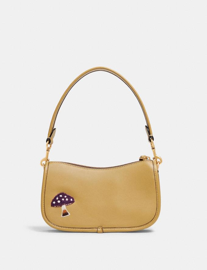 Coach Swinger 20 With Creature Patches B4/Light Tan Multi  Alternate View 2