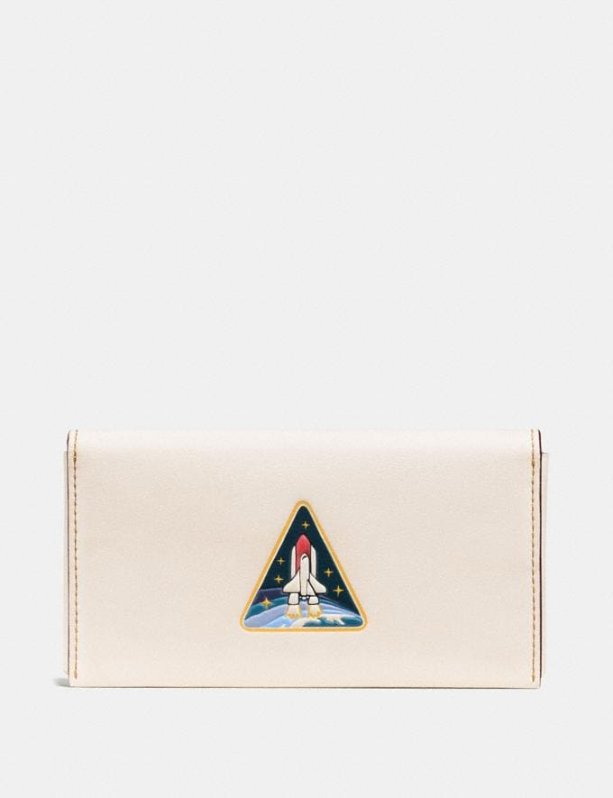 Coach Phone Wallet With Rocket Chalk Men Accessories