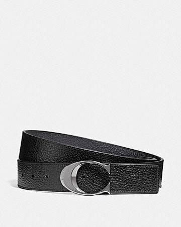 wide sculpted c belt