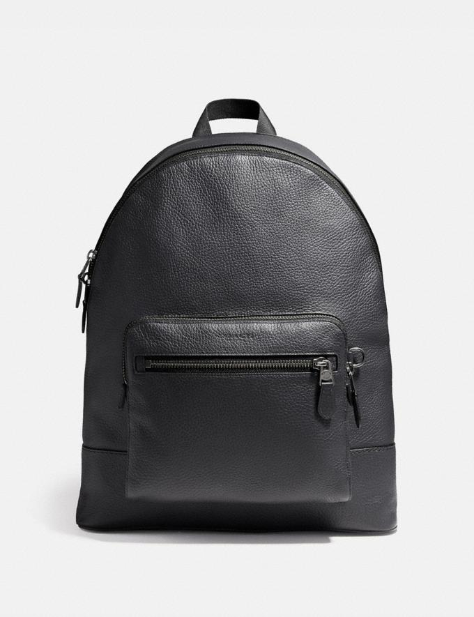 Coach West Backpack Midnight Navy/Black Antique Nickel Explore Bags Bags Backpacks