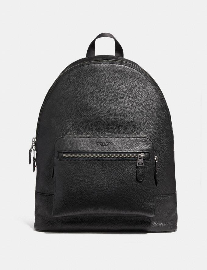 Coach West Backpack Black/Black Antique Nickel DEFAULT_CATEGORY