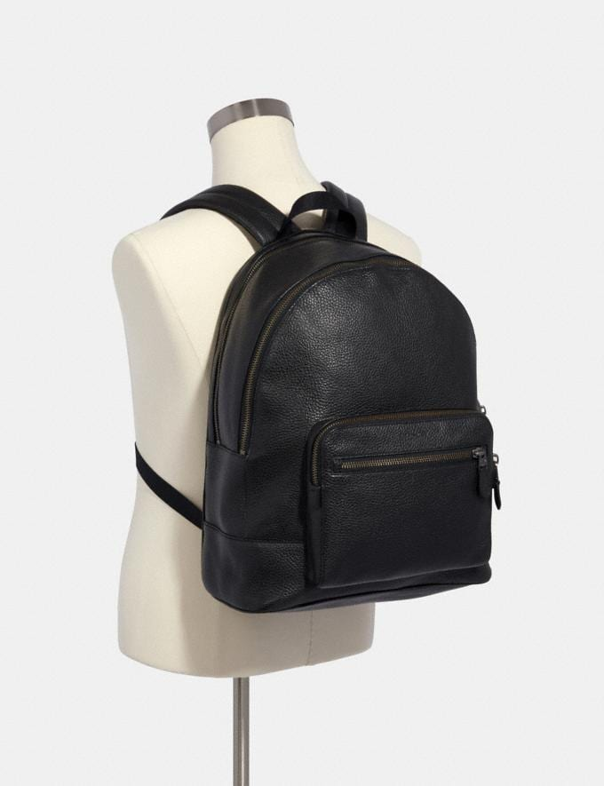 Coach West Backpack Black/Black Antique Nickel DEFAULT_CATEGORY Alternate View 2