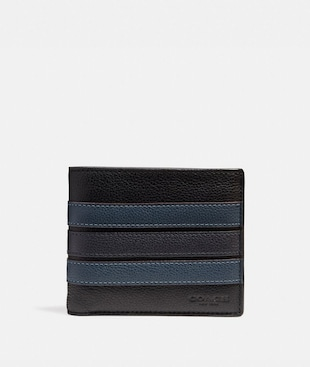3-IN-1 WALLET WITH VARSITY STRIPE