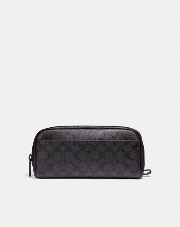 Coach TRAVEL KIT IN SIGNATURE CANVAS