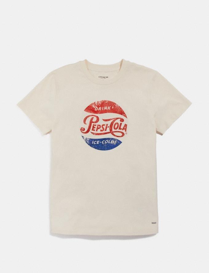 Coach Pepsi® T-Shirt Chalk null