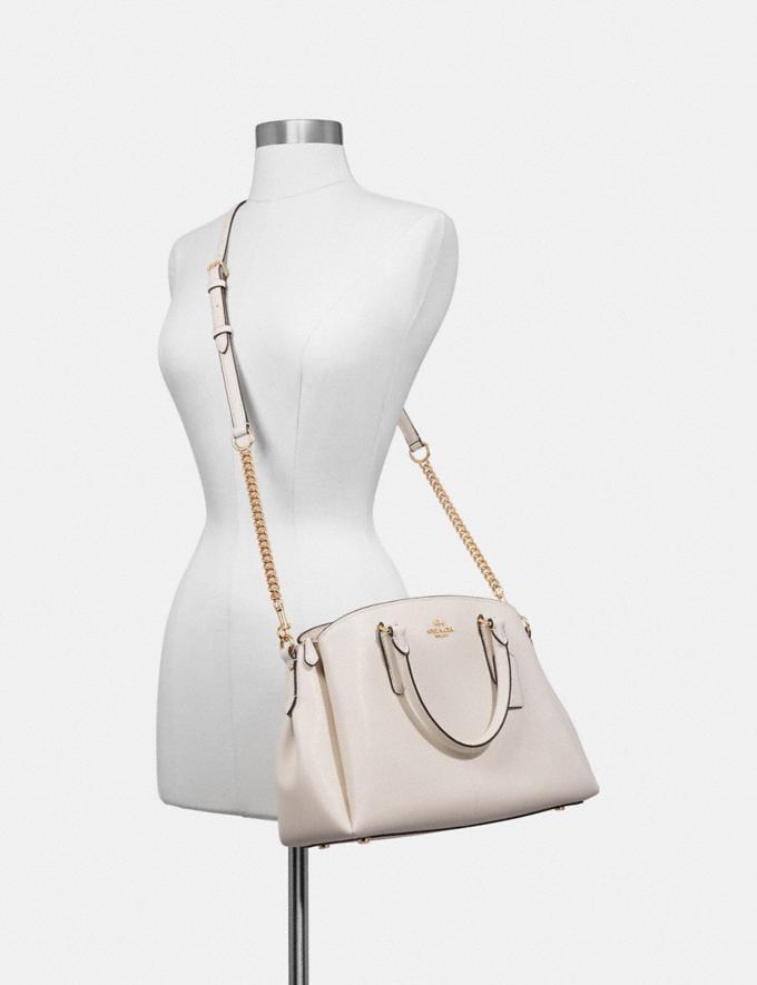 Coach Sage Carryall Im/Evergreen Clearance Handbags Alternate View 2