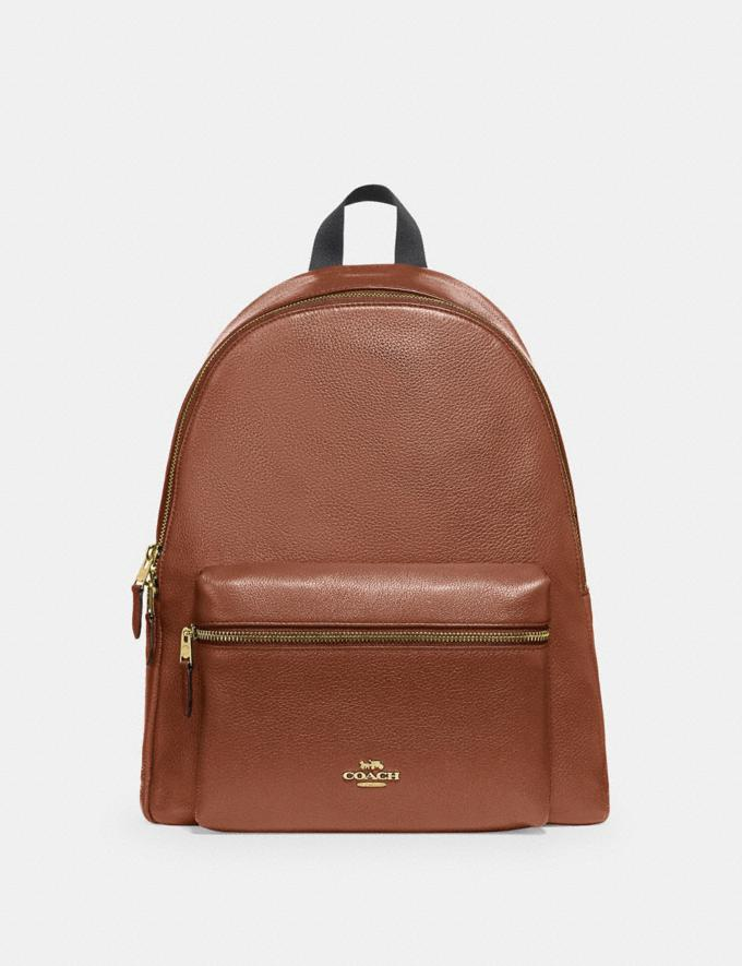 Coach Charlie Backpack Im/Saddle 2 Women Business Essentials
