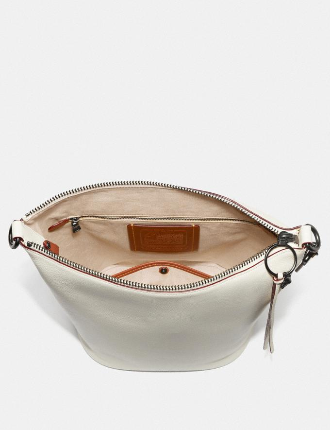 Coach Duffle With Rivets Bp/Heather Grey  Alternate View 2