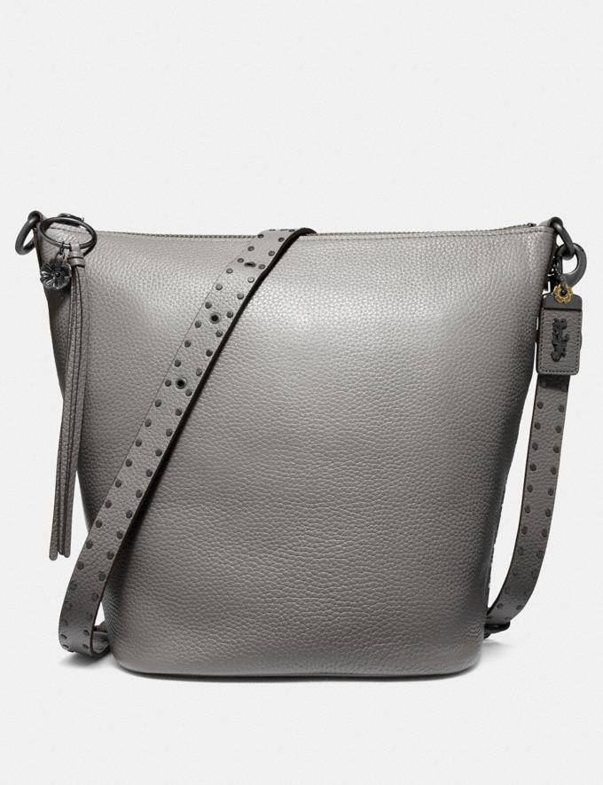 Coach Duffle With Rivets Bp/Heather Grey