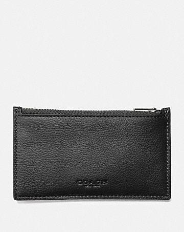 zip card case