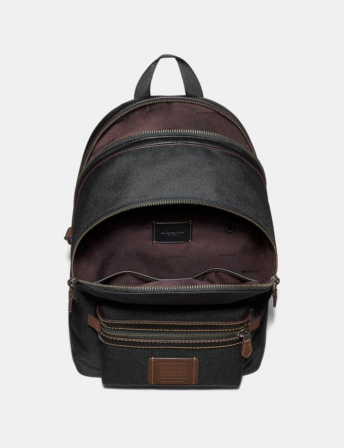 Coach Academy Backpack Bright Navy/Chestnut/Black Antique Nickel Explore Men Explore Men Travel Alternate View 1