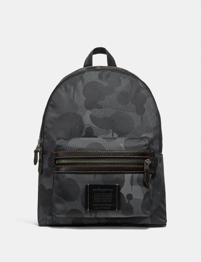Coach Academy Backpack With Wild Beast Print Ji/Charcoal Coach Reserve Coach Reserve