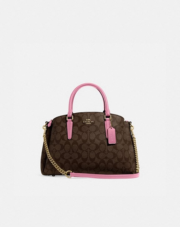 Coach SAGE CARRYALL IN SIGNATURE CANVAS