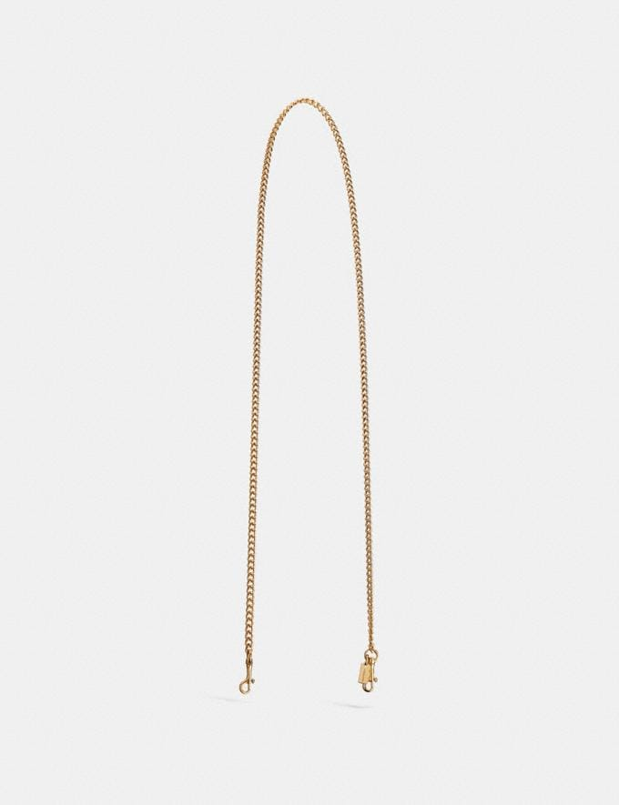 Coach Chain Strap Gold/Light Gold