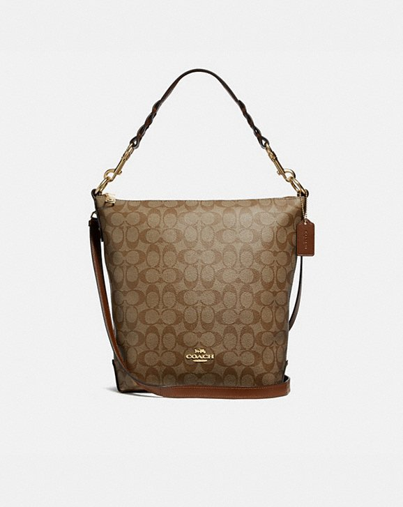 Coach ABBY DUFFLE IN SIGNATURE CANVAS