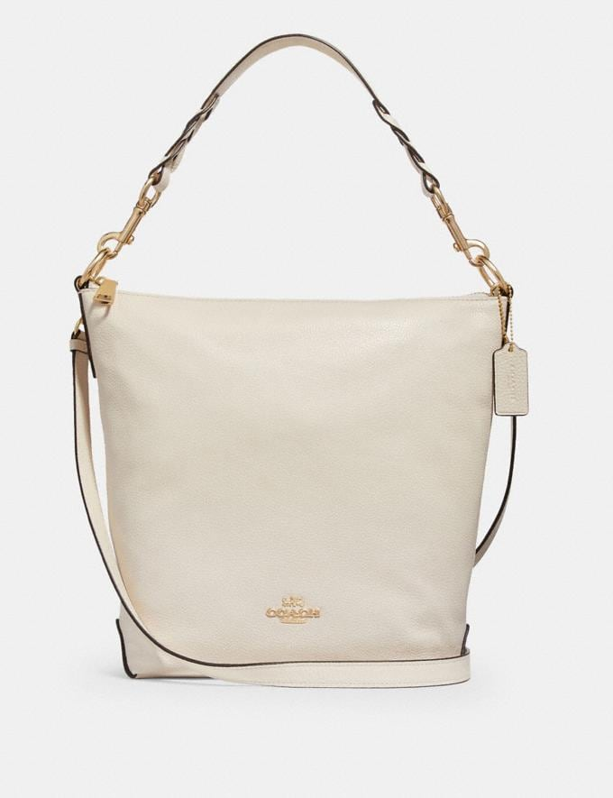 Coach Abby Duffle Chalk/Light Gold What's New