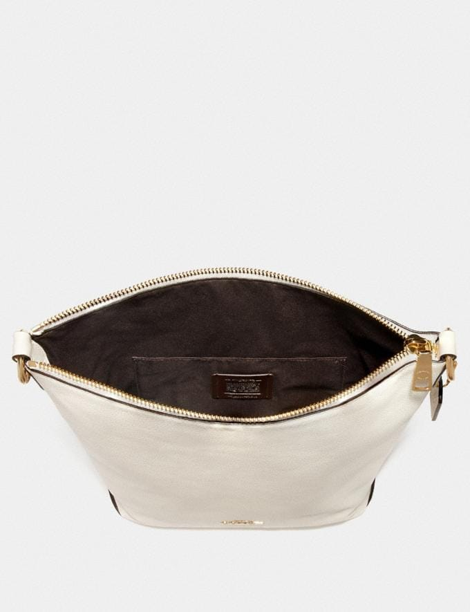 Coach Abby Duffle Chalk/Light Gold DEFAULT_CATEGORY Alternate View 2