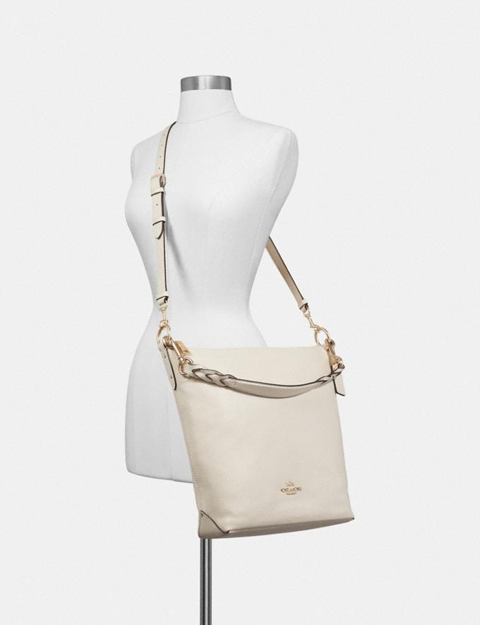 Coach Abby Duffle Chalk/Light Gold DEFAULT_CATEGORY Alternate View 3