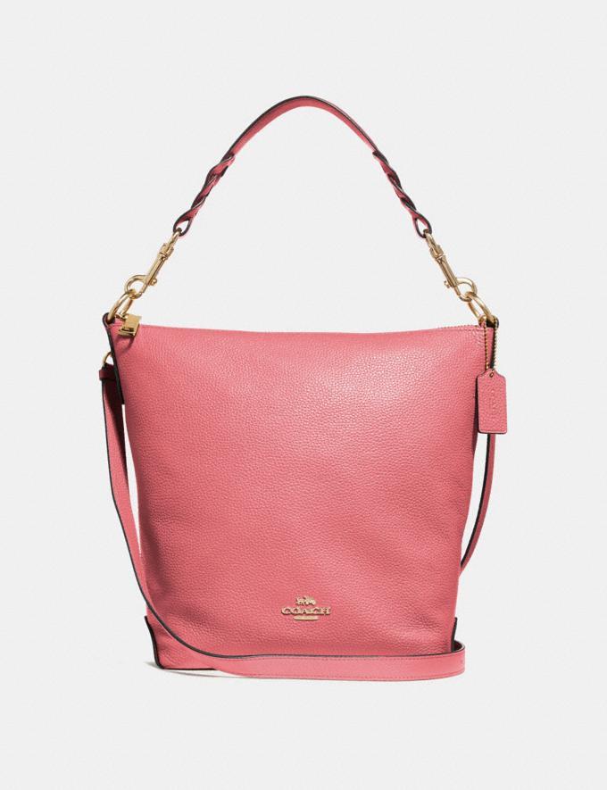 Coach Abby Duffle Rose Petal/Imitation Gold Explore Bags Bags Shoulder Bags