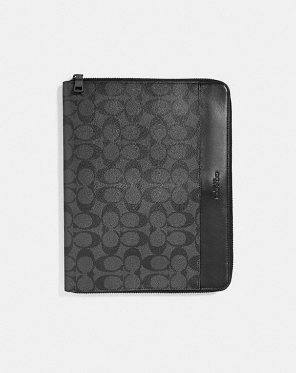 Coach TECH CASE IN SIGNATURE CANVAS