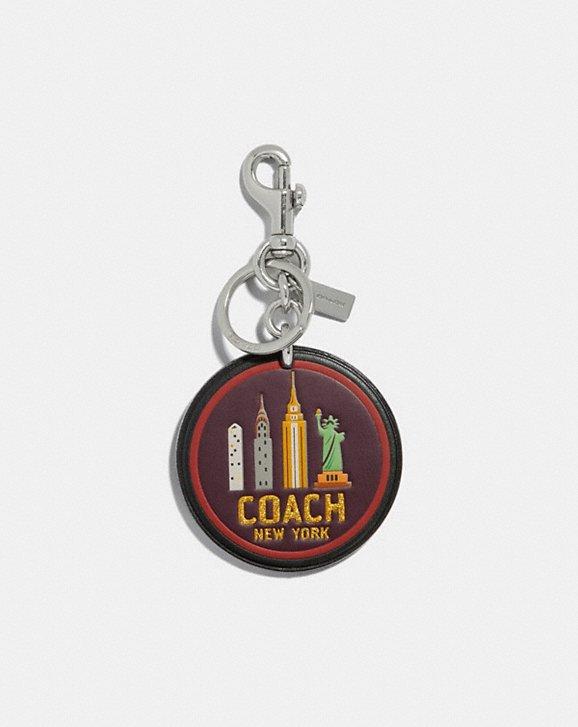 Coach NEW YORK BAG CHARM