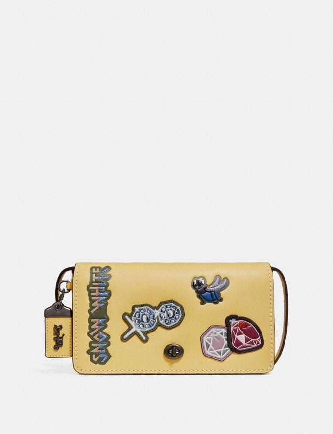Coach Disney X Coach Dinky With Patches Sunflower Bags Crossbody Bags