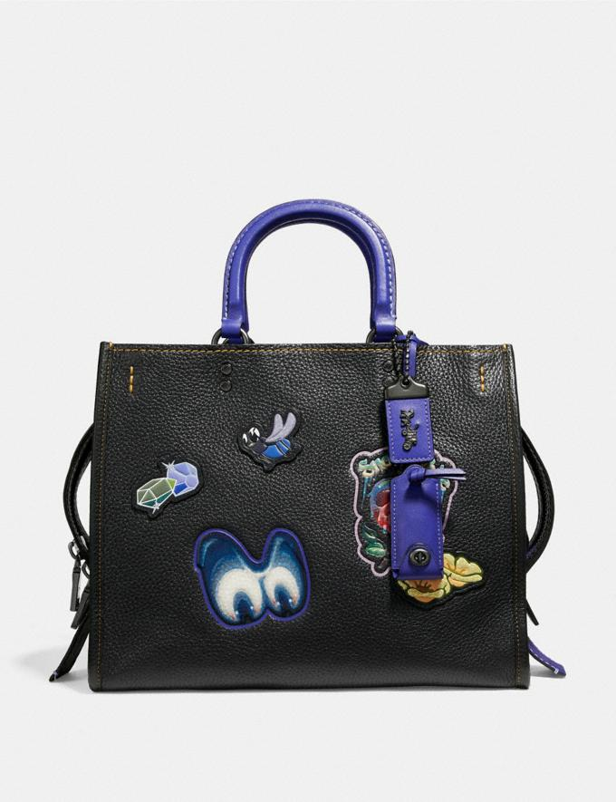 Disney X Coach Rogue With Patches Coach Outlet
