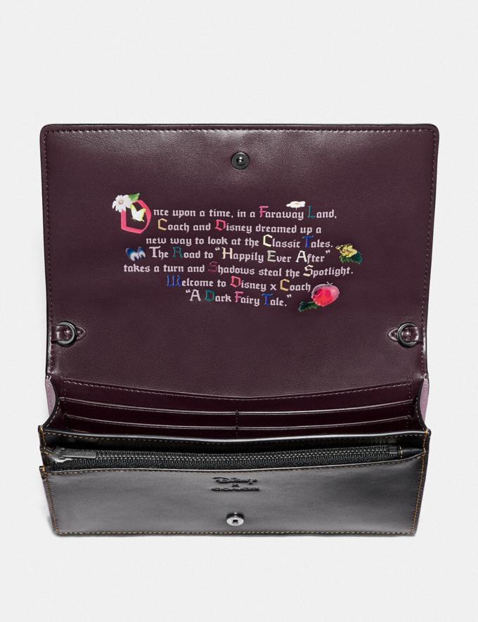 Coach Disney X Coach Dopey Hayden Foldover Crossbody Clutch Black Explore Bags Bags Crossbody Bags Alternate View 1