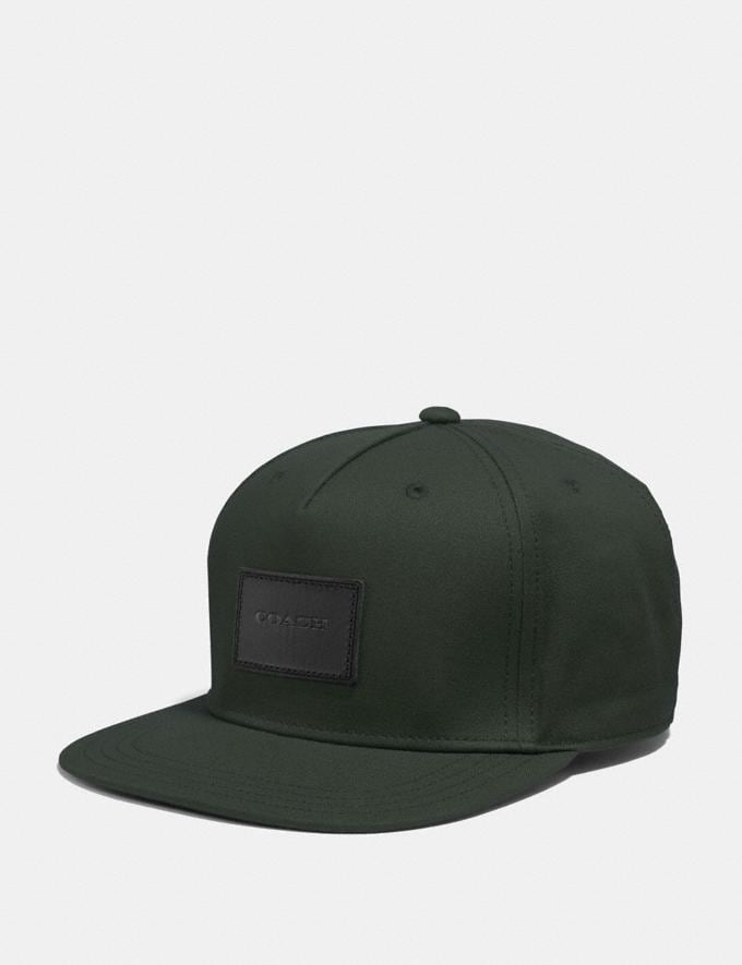 Coach Flat Brim Hat Holly
