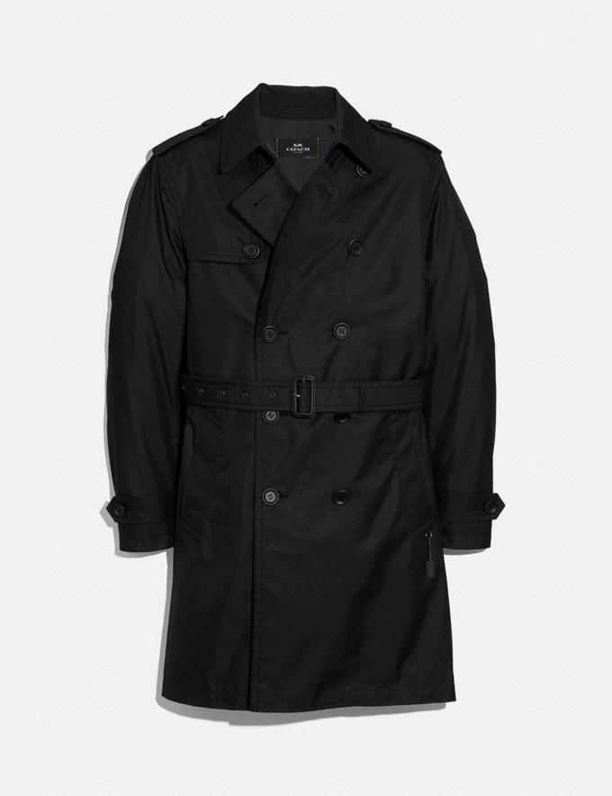 Coach Trench Coat Black