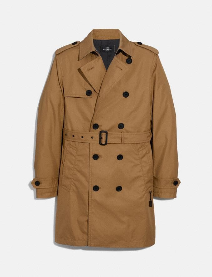 Coach Trench Coat Khaki