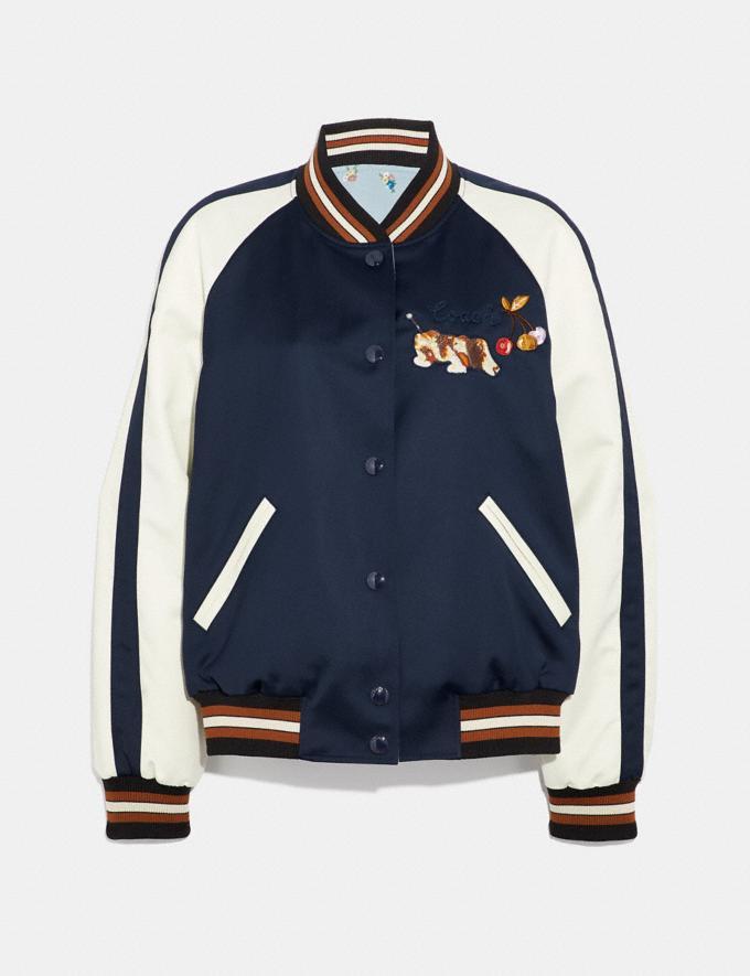 Coach Fisher-Price Reversible Souvenir Jacket Navy