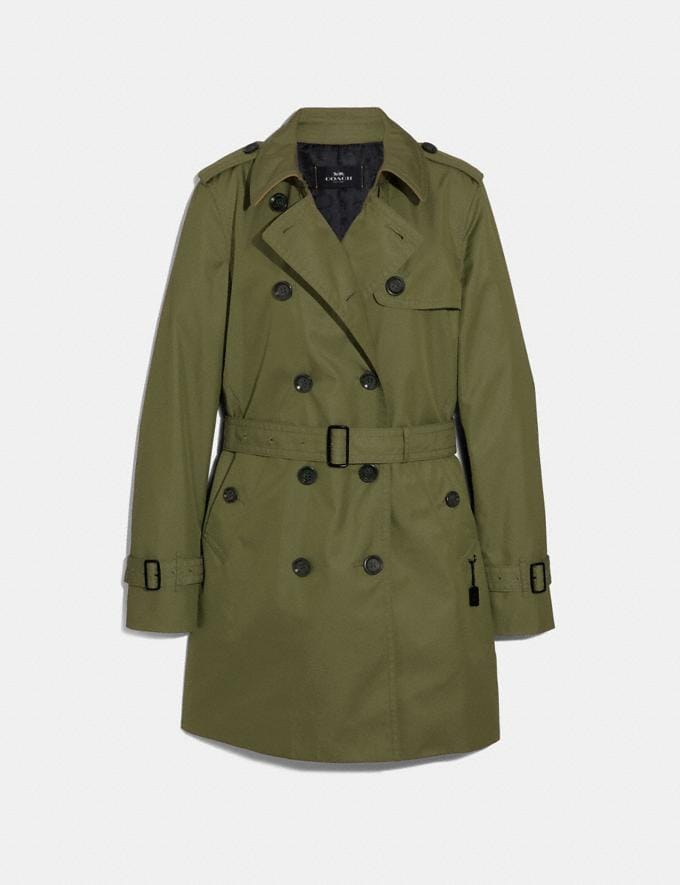 Coach Trench Dark Utility
