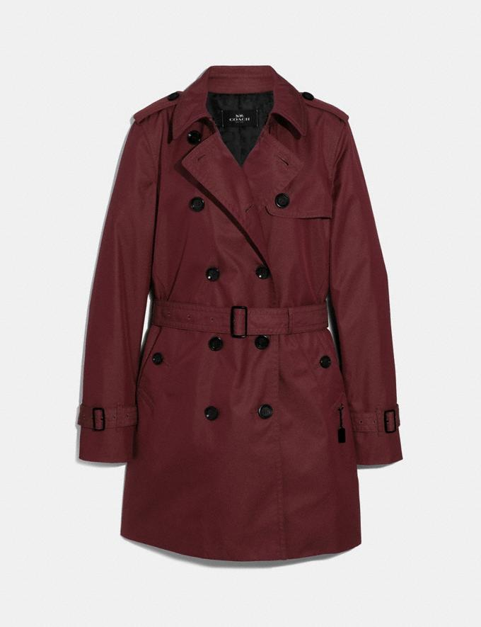 Coach Trench Rosewood