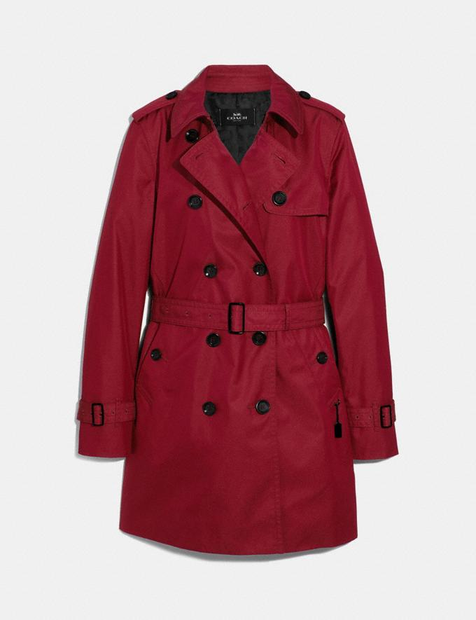 Coach Trench Ruby