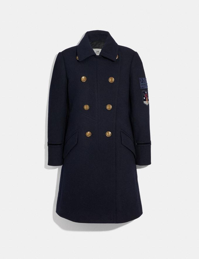 Coach Naval Coat Cadet