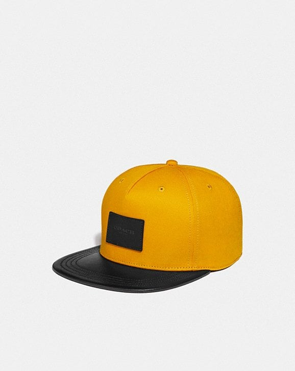 Coach COLORBLOCK FLAT BRIM HAT