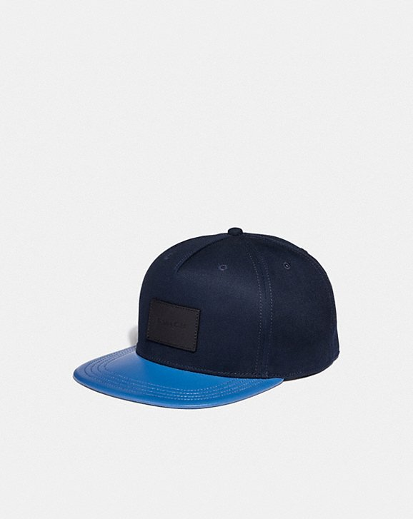 Coach COLORBLOCK FLAT BRIM HAT