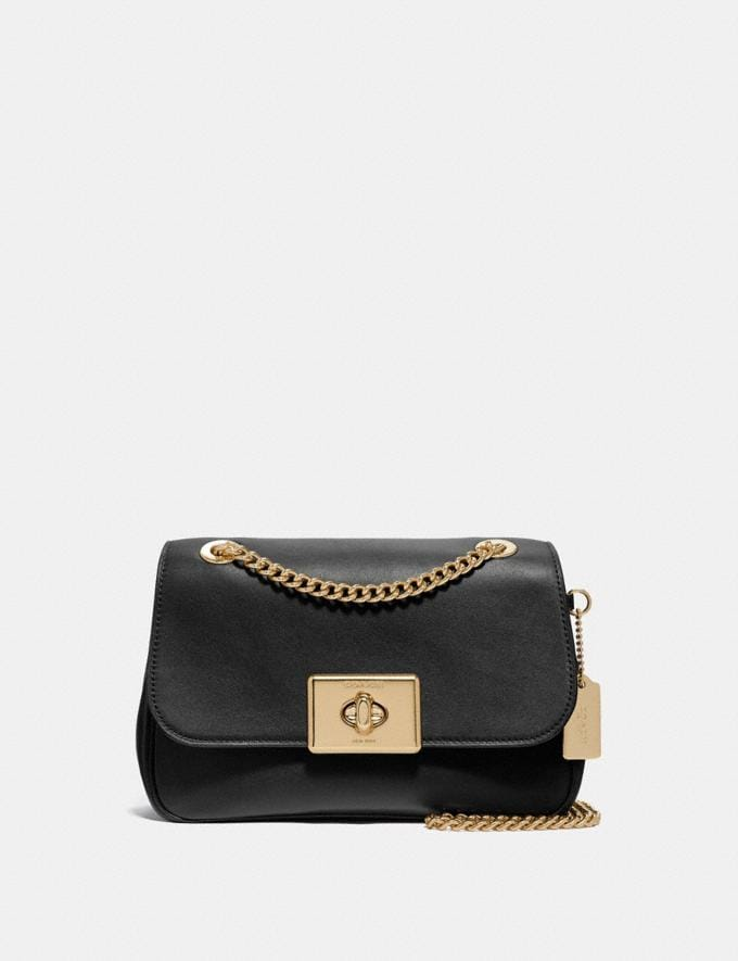 Coach Cassidy Crossbody Black/Light Gold Explore Bags Bags Crossbody Bags