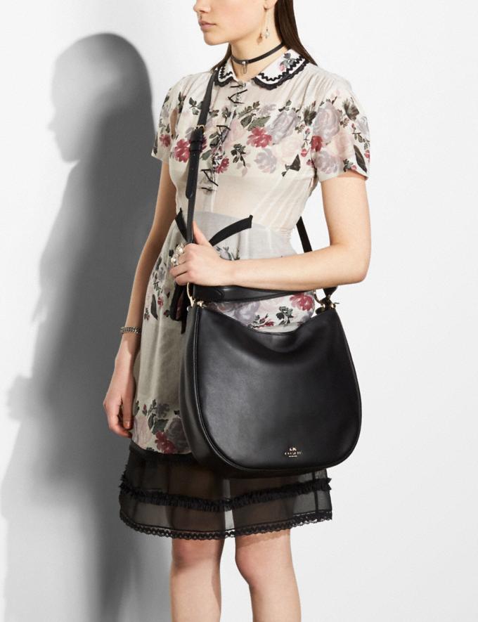 Coach Mae Hobo True Red/Silver Bags Shoulder Bags Alternate View 4