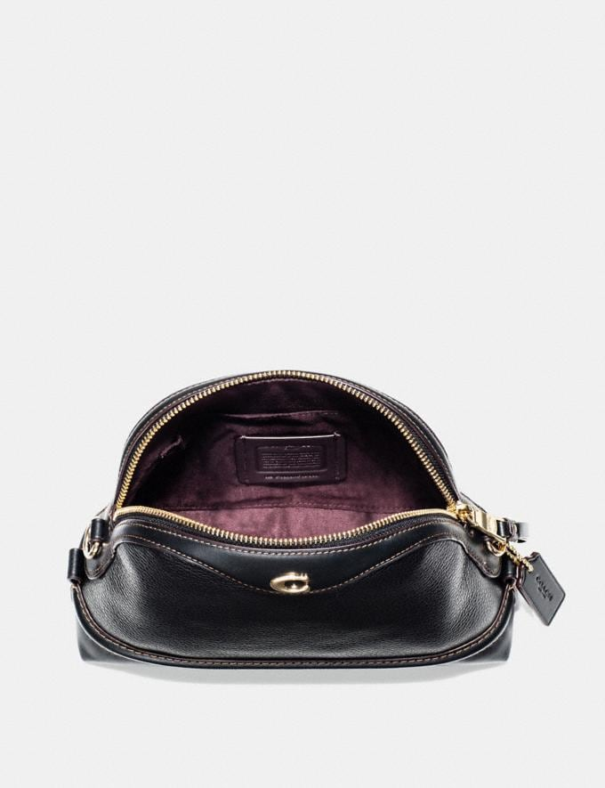 Coach Ivie Crossbody Black/Light Gold Explore Bags Bags Crossbody Bags Alternate View 1