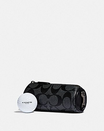 golf ball set in signature canvas