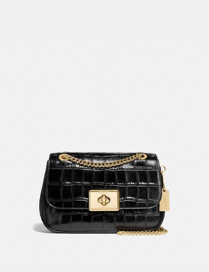 Coach Cassidy Crossbody Black/Light Gold Explore Bags Bags Crossbody Bags