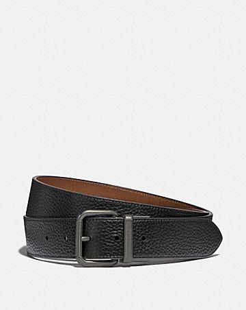 dapped coach roller cut-to-size reversible belt