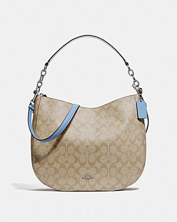 ELLE HOBO IN SIGNATURE CANVAS